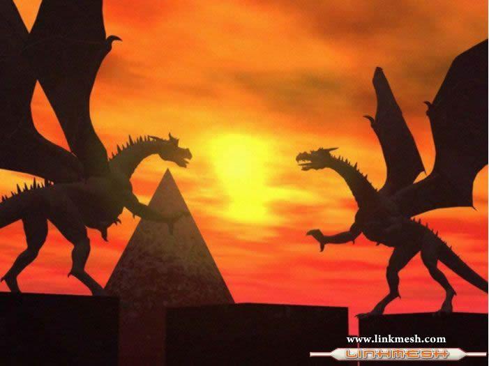 Solamente Impresionantes Dragones Pelea_de_dragones