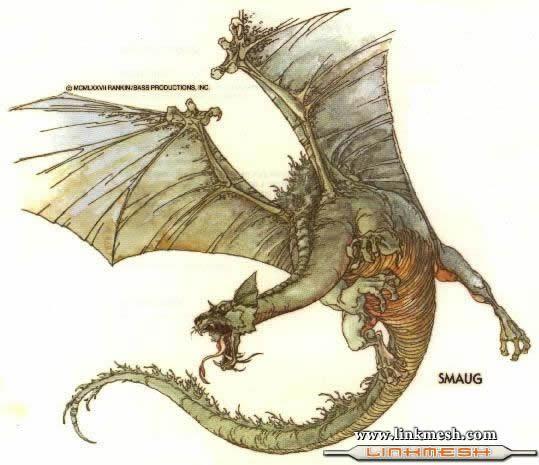 Solamente Impresionantes Dragones Smaug