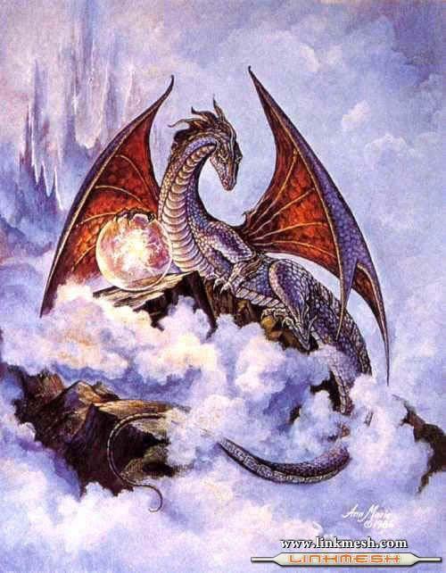 Solamente Impresionantes Dragones Sobre_el_cielo