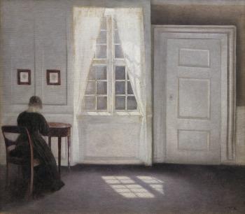 Hammershøi, le maître de la peinture danoise au musée Jacquemart André Hammershoi5