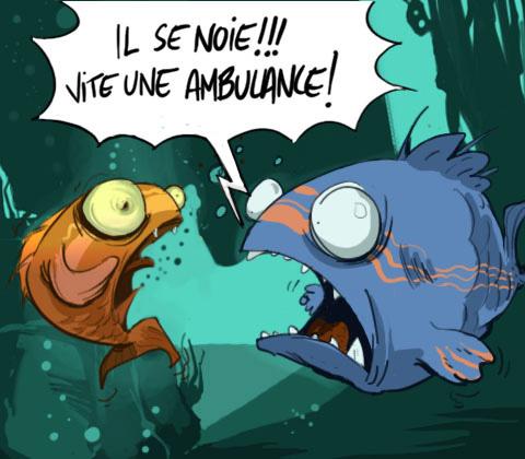 L'illlettrisme en France : des chiffres accablants. 100-poissons2