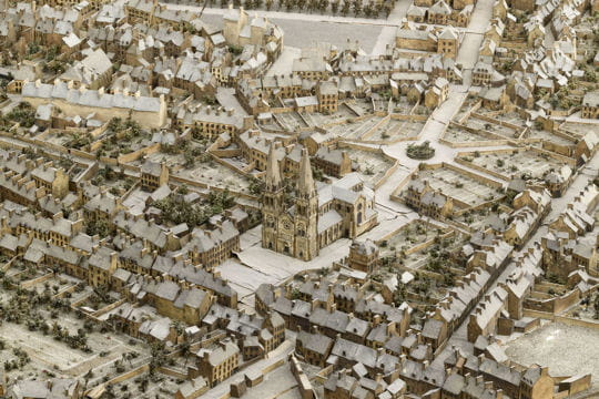 Histoire : France en relief Cherbourg-1116387