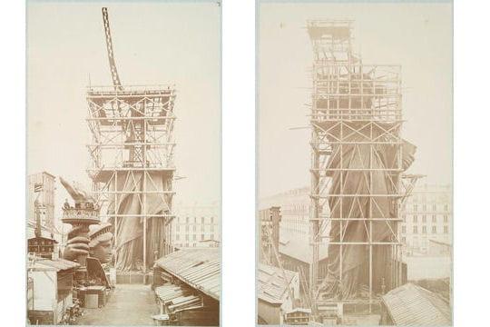 Evénements & Histoire : La construction de la Statue de la Liberté by L'Internaute Oeuvre-titanesque-1325784