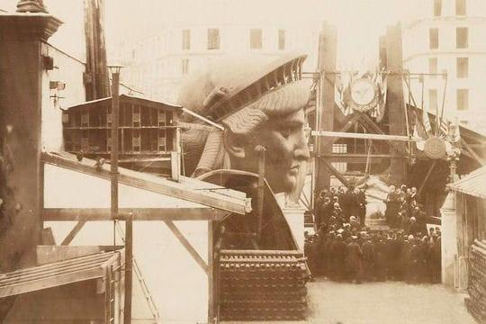 Evénements & Histoire : La construction de la Statue de la Liberté by L'Internaute Tete-gigantesque-1325697