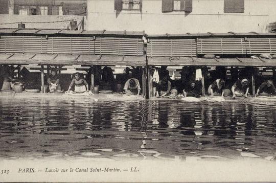 Histoire :  Le Paris du XIXe siècle Lavoir-1128365