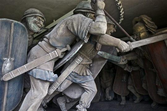 Evénements & Histoire : MuséoParc Alésia Guerriers-1232531