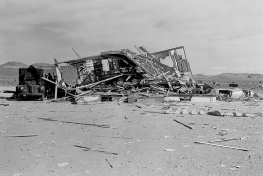 Histoire : Premiers essais nucléaires Vestiges-1097161