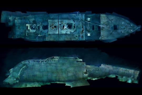 Cent ans plus tard : L'épave du Titanic Assemblage-1500-photos-1197541