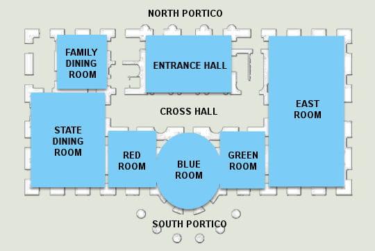 ديكور منزل اوباما (رئيس امريكا) 1er-etage-430357