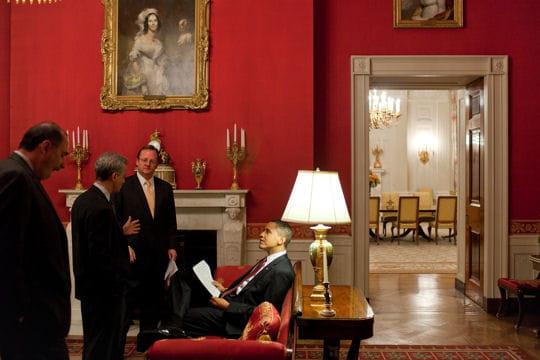 ديكور منزل اوباما (رئيس امريكا) Chambre-rouge-430542