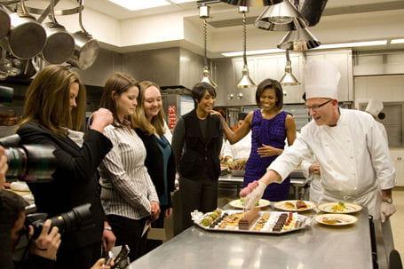 ديكور منزل اوباما (رئيس امريكا) Cuisines-430282