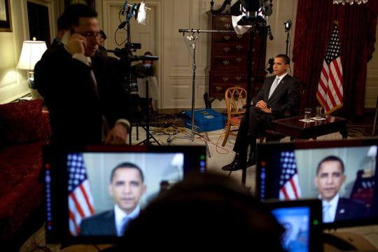 ديكور منزل اوباما (رئيس امريكا) Salle-cartes-430278