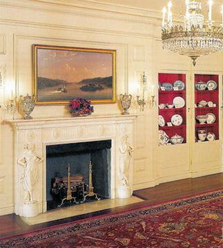 ديكور منزل اوباما (رئيس امريكا) Salon-porcelaines-430272