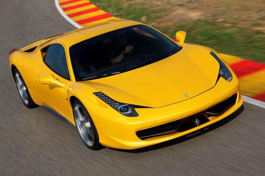Auto & Voiture de collection : La saga Ferrari Ferrari-458-italia-858976