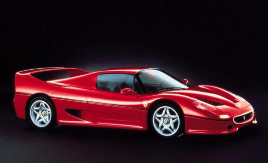 Auto & Voiture de collection : La saga Ferrari Ferrari-f50-859033