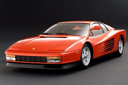 Auto & Voiture de collection : La saga Ferrari Ferrari-testarossa-858561