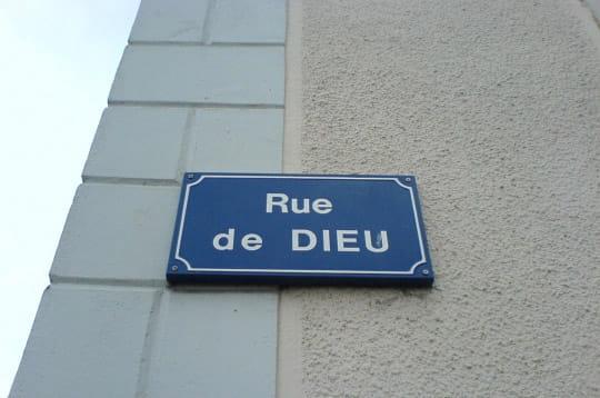 Insolite > Magazine > Noms de rues Dieu-253828