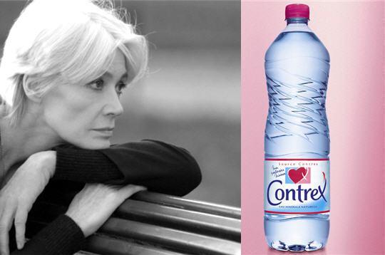 Françoise  et les publicités Contrex