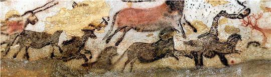 Grotte de Lascaux Chevaux-noirs-lascaux-645066