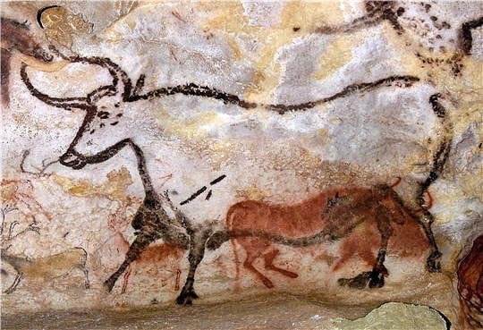 Grotte de Lascaux Lascaux-deuxieme-taureau-645038