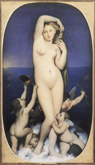 Ingres, un nouveau Picasso? en tout cas un érotomane Venus-grand