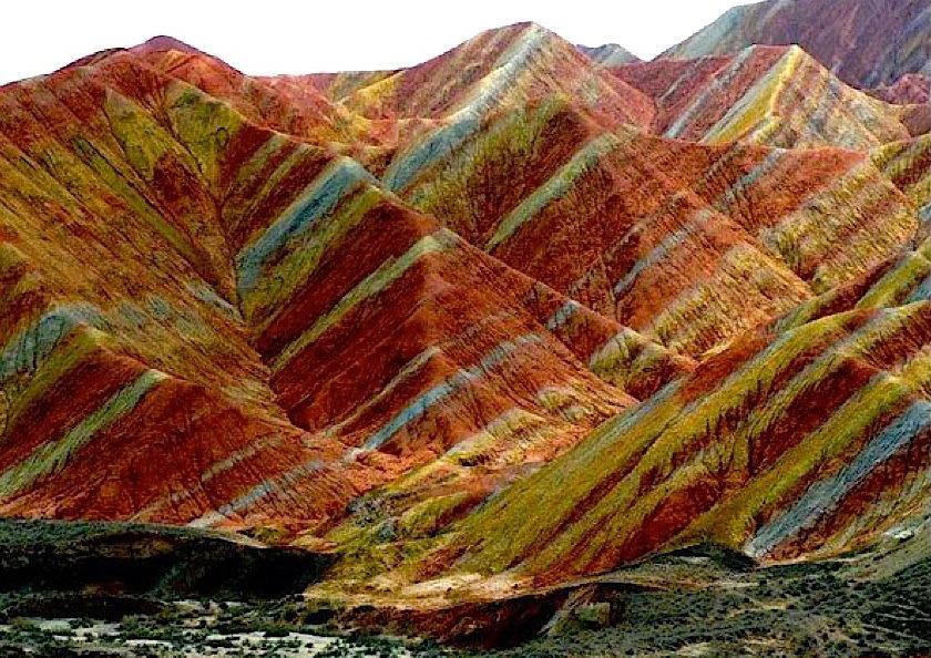 Chine : le site naturel le plus coloré du monde  1