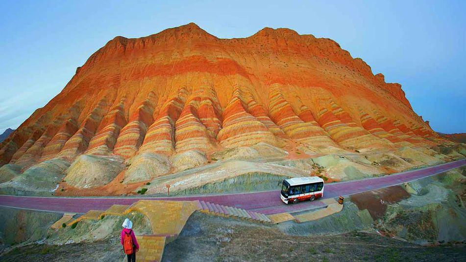 Chine : le site naturel le plus coloré du monde  5