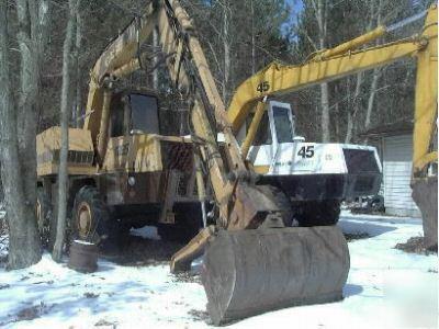 cruz air  escavatore gommato case drott Picture-1