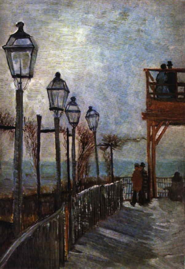 Vinsent van Gogh Gogh-montmartre