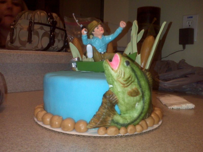 Happy birthday, Rob!! Fishing-Cake-Decorations