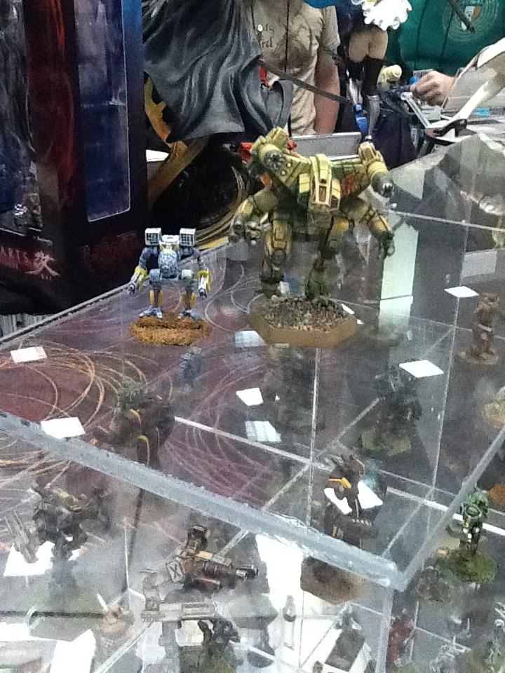 'Mech misterioso Battletech_miniatures