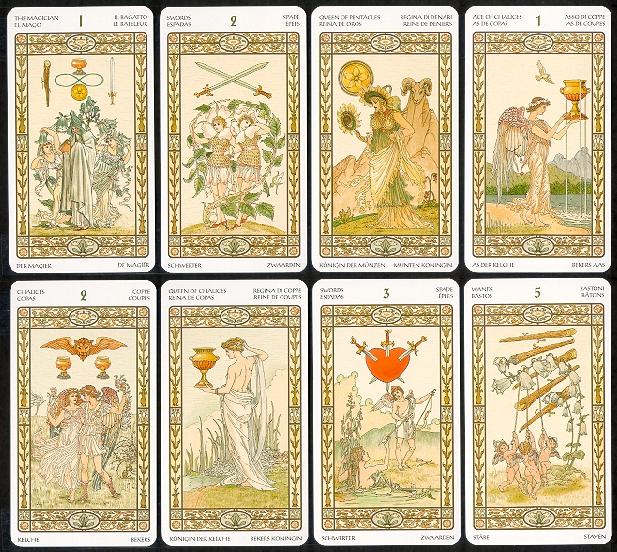 Обзор различных колод The-Harmonious-Tarot