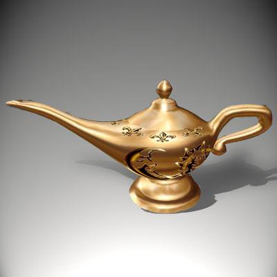 Джинн Тараур Lamp1