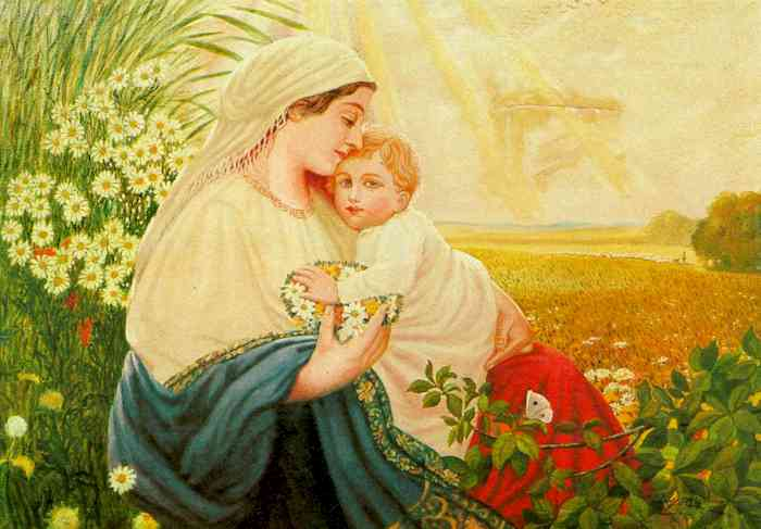 Мама, милая мама... Maria