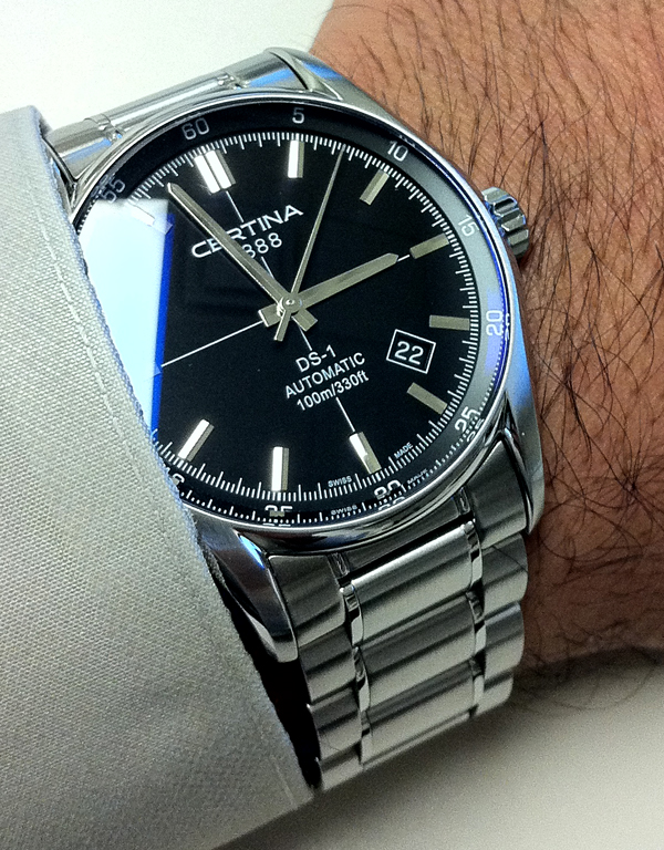 En busca de un reloj eleganton. Certina_DS1_Automatic