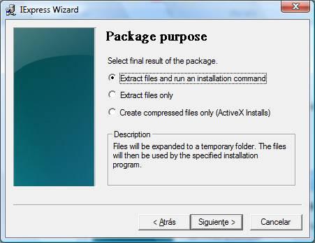 Crear un portable con iexpress Image004
