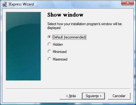 Crear un portable con iexpress Image014