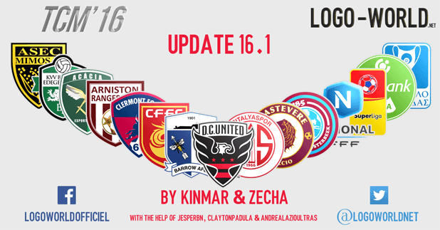[FM16] Logopack TCM16 by Logo-World.net - Update 16.2 ! Update161s
