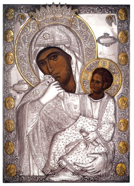 """Икона Божьей Матери """"Отрада"""" (Утешение) 16156"""