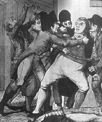 Les chouans Cadoudal-arrestation