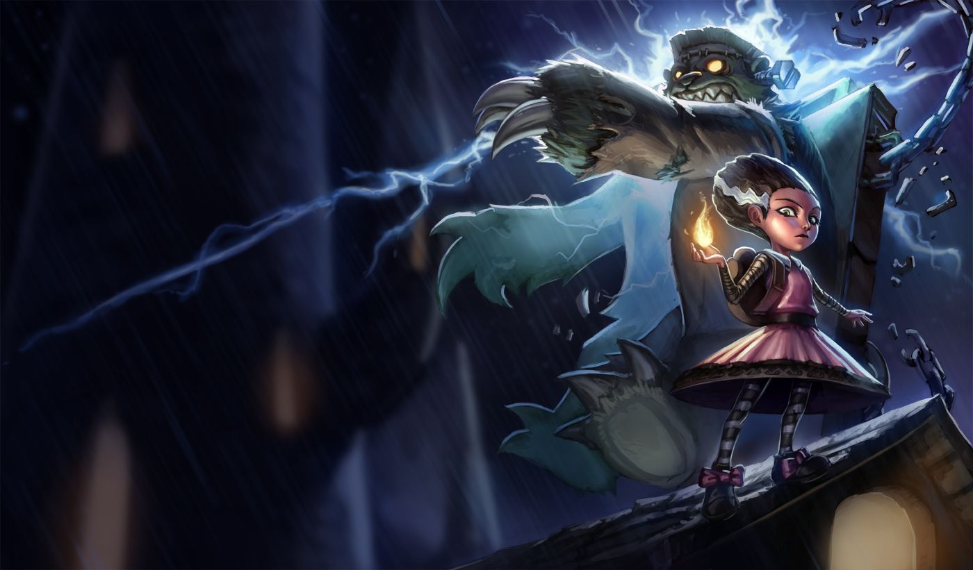 P.O League Of Legends Champs And Skins Frankentibbers_annie