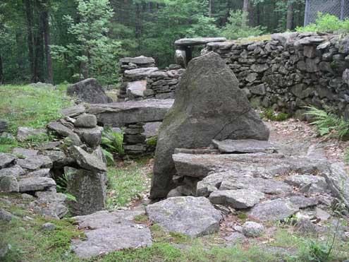 America's Stonehenge 4,000 year old Mystery Monument 20090306_USAStonehedge2