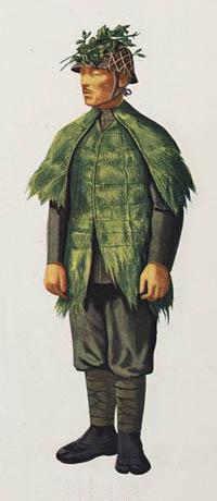 Uniformes et équipement de l'Armée impériale japonaise 1930- Japanese-camouflage-jungle-jacket