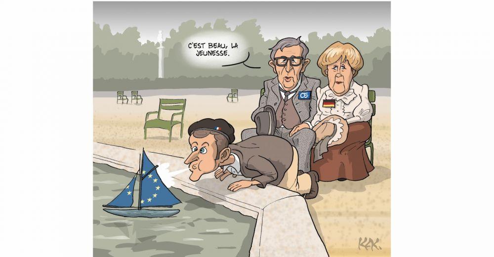 Qui est Emmanuel Macron ? - Page 8 Kak_europe_vision_juncker_vs_macron