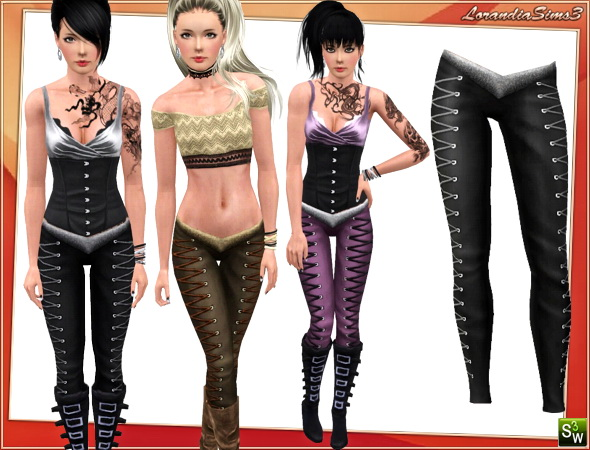 Leather Pants by Lore LorandiaSims3_Clothing_L_312