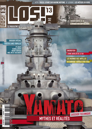 IJN Yamato en détails - Page 4 Los-13