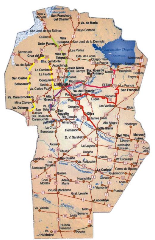 Muéstranos tu Ciudad/Pueblo o País Cordoba_mapa_rutas