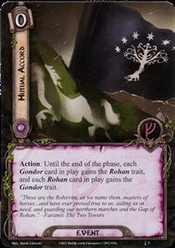 [Question] Gondorian Fire et perte du trait Gondor [Résolu] M1707