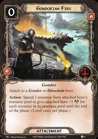 [Question] Gondorian Fire et perte du trait Gondor [Résolu] M1863