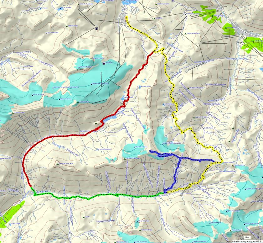 Quatre jours en Vanoise (introduction) Parcours-bordure